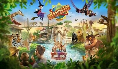4 X Chessington TICKETS Full Entry FRIDAY 11th October 2019