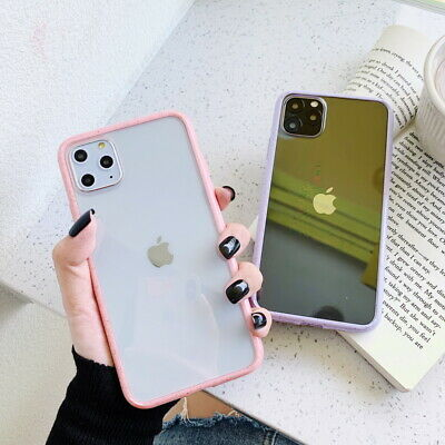 For iPhone 11 Pro Max Xs X XR 7 8+ Shockproof Spot Bumper Clear Soft Case Cover