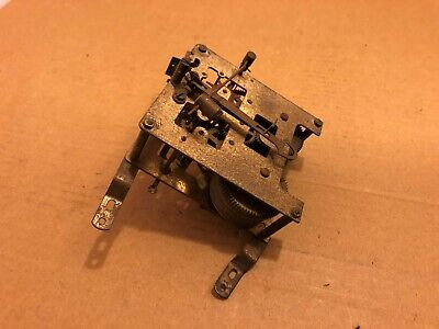 Vintage Clock Mechanism / Assembly For Spare Parts Only