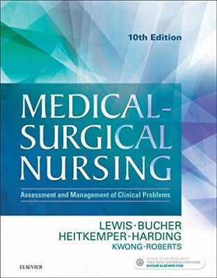 Medical-Surgical Nursing  10TH EDITION  By Lewis ( HARDCOVER )    10419