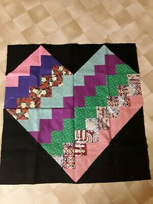 Heart Unfinished Quilt