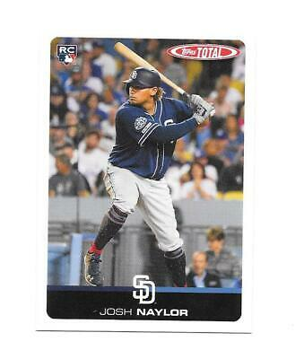 2019 JOSH NAYLOR Topps Total RC Wave 7 #621 - Only 366 Made - San Diego Padres