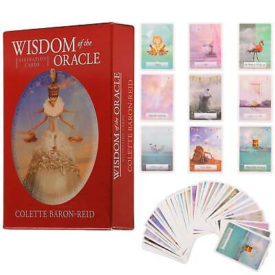 Wisdom Oracle Cards Magic Tarot Deck Esoteric Fortune Telling Game Systems Gifts