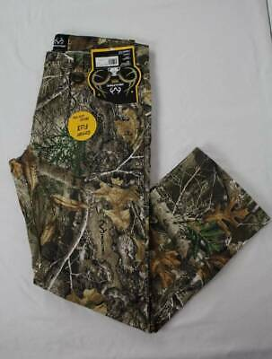 Mens Realtree Edge Jeans Size 34 - 30 Camouflage Pants Deer Hunting Bow Outdoor