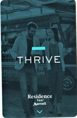 MARRIOT INN RESIDENCE**THRIVE** hotel key card Fast Safe Shipping # 6