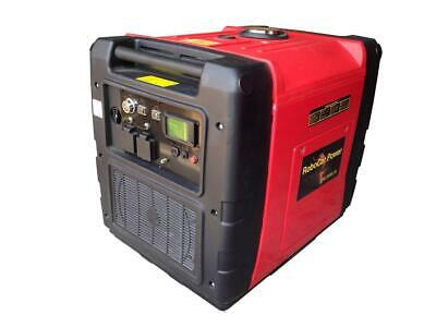 7.5 Kva Inverter Generator ,Silenced With Electric Wireless Remote Start ,Lcd