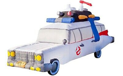 9' Air Blown Inflatable Ghostbuster's Ecto-1 Mobile Halloween Yard Decoration