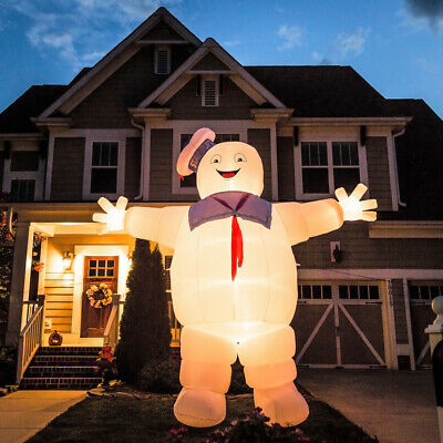 GIANT GHOSTBUSTERS STAY PUFT Halloween Inflatable New