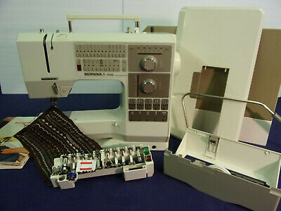 Bernina 1130 Computerized Sewing Machine with Case & Attachments