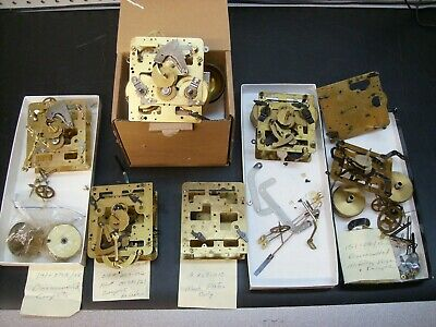 FranzHermle 141/151 series, parts salvage movements, for parts Qty.3