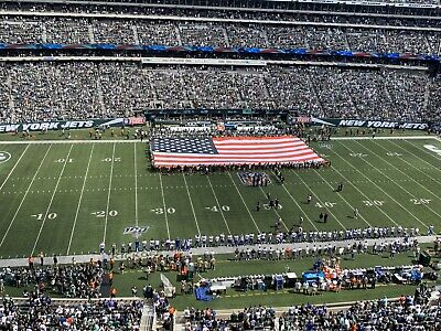 2 Tickets - New York Jets Vs Dallas Cowboys, FIRST ROW!