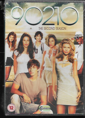 90210 Complete Second Season Series Two Genuine R2 Dvd Boxset 6-Disc New/Sealed