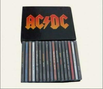 "AC/DC ""The Complete Collection"" 17 CD Full Box Set Studio Recordings Albums US"