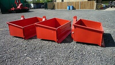 COPMACT TRACTOR TRANSPORT BOX, 3 POINT LINKAGE, HEAVY DUTY - 3 size