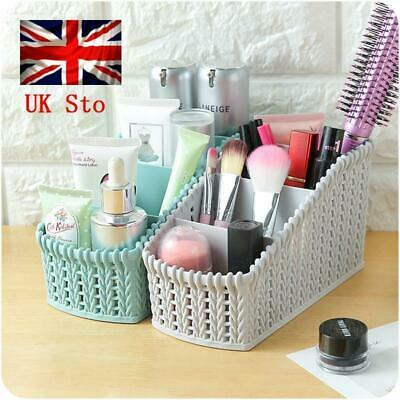 Storage Plastic Basket Boxes Bin Clothes Container Laundry Holder Home Organizer