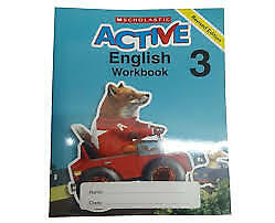Active English Workbook 3 (Scholastic) - Paperback - Very Good Condition