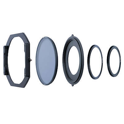 NiSi S5 Kit 150mm Filter Holder with CPL for Standard Threads (105mm, 95mm&82mm)