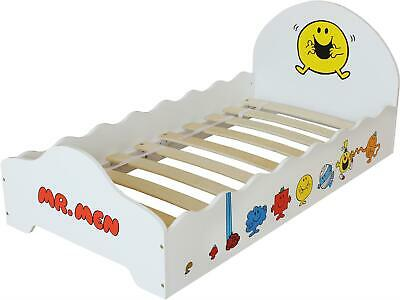 Kiddi Style MR MEN KIDS BED Wooden Mr Happy Toddler Child Junior Bed BN