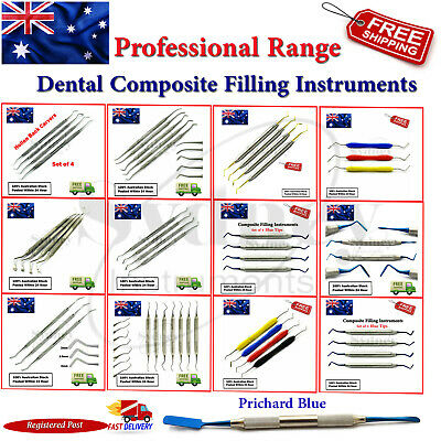 Dental Composite Filling Instruments Amalgam Flat Plastic Restorative Placement