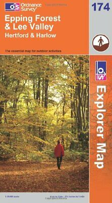 Epping Forest and Lee Valley (OS Explorer Map Series), Ordnance Survey, Good Con
