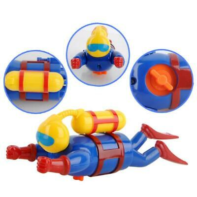2018 New Swimmers Scuba Diver Toy Wind Up Clockwork Sea Baby Bath Toy Kids Toy