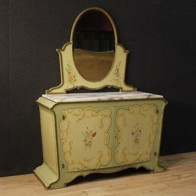 Cupboard Dresser Furniture Dresser Mirror Antique Style Liberty Wood Painting