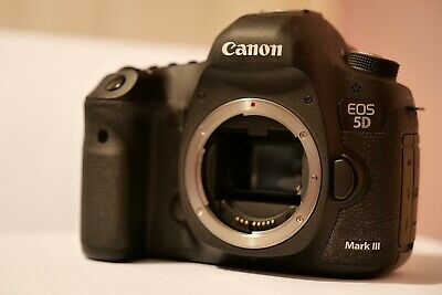 Canon EOS 5D Mark III 22.3MP Digital SLR Camera Body + Video Extras.