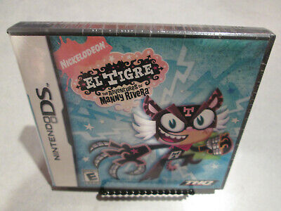 El Tigre Nintendo DS Brand New Sealed 3DS 2DS DSi XL Nickelodeon