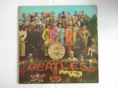 The Beatles 1967 Sgt Peppers Lonely Hearts Club Band Pmc 7027 First Pressing