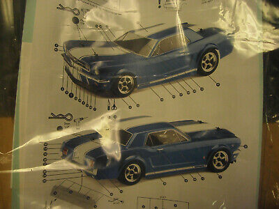 HPI 104926 Body clear 1966 Ford Mustang GT for 1/10 RC RS4 tamiya tt02 E10 200mm