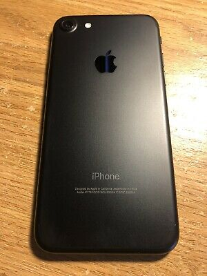 Apple iPhone 7 - 32GB - Black (AT&T) A1778 (GSM) 32 GB