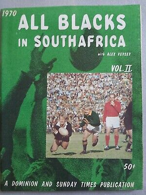 1970 ALL BLACKS IN SOUTH AFRICA Vol 2 Springboks v New Zealand