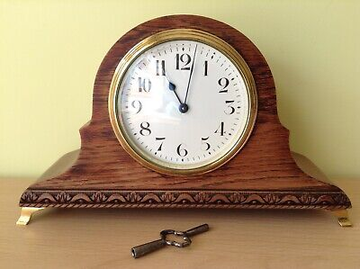 Duverdrey & Bloquel French old clock c.1920 8.day WO