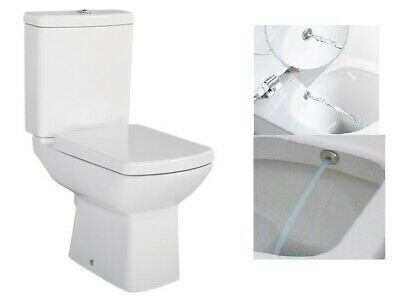 Peachy Creavit Fe360 Back To Wall Close Coupled Combined Bidet Forskolin Free Trial Chair Design Images Forskolin Free Trialorg