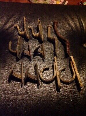 Collection Of Vintage Metal Curtain Holdbacks Tie Backs Holders Hooks
