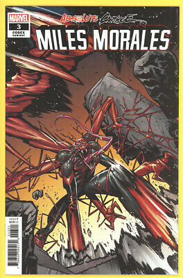 Absolute Carnage: Miles Morales #3 Jacinto Codex 1:25 Incentive Variant *NM*