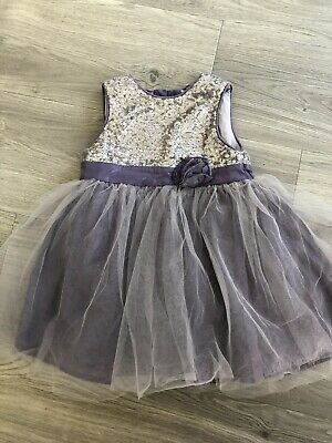 Mothercare Girls Dress 9-12 Months