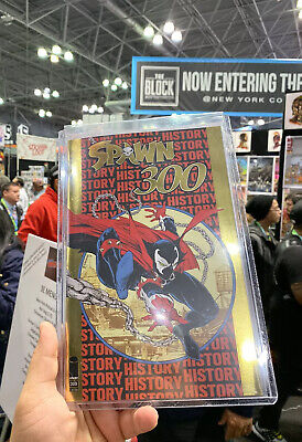 SPAWN #300 Gold FOIL VARIANT Comic NYCC 2019 Limited Exclusive Todd McFarlane