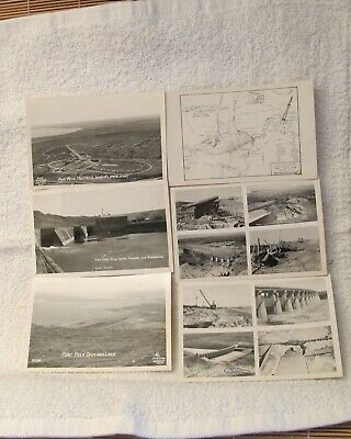 Ft. Peck Dam, Montana lot of 6 post cards