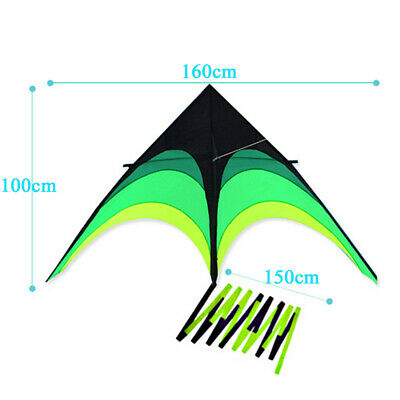 160cm Kite Line Stunt Kites Kite Outdoor Fun Sport Kids Adult Kite Toys Gift Toy