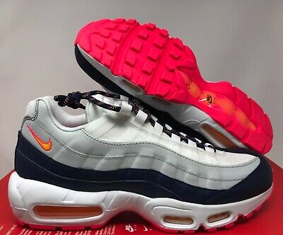 Details about NIKE ID AIR MAX 95 GAME ROYAL BLUE CUSTOM SHOES 818593 992 WMNS 7.5 MENS 6