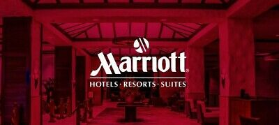 Marriott 7 Nights FREE Certificate For Category 1-4 Hotel Travel Package