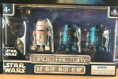 Disney Parks Star Wars Droid Factory 4 Pack The Rise of Skywalker  - New
