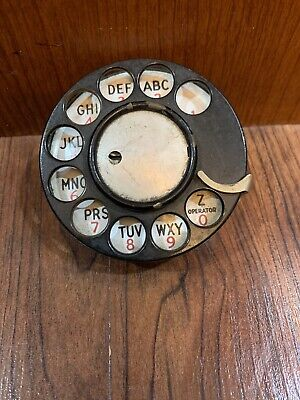 Western Electric original 1920s 2AB telephone dial in excellent working conditio