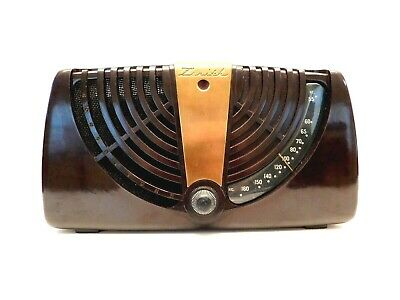 VINTAGE 50s OLD EAMES DESIGNED ZENITH NEAR MINT MID CENTURY ANTIQUE TUBE RADIO