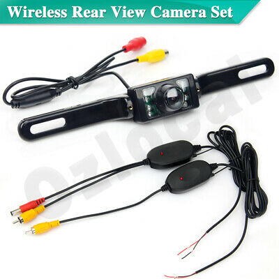 Wireless Car Rear View Camera Waterproof Reverse Kit Backup Parking Night Vision
