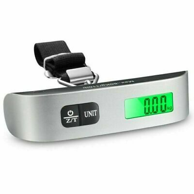 Portable Travel Tare 110lb LCD Electronic Hanging Digital Suitcase Luggage Scale