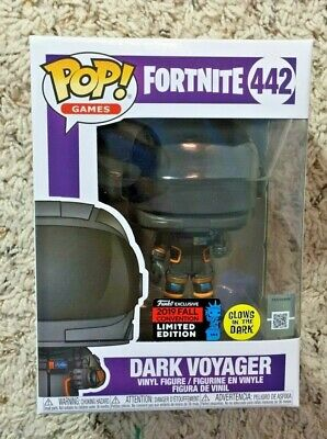 Funko Pop! Dark Voyager Fortnite #442 Glow in the Dark 2019 NYCC Exclusive