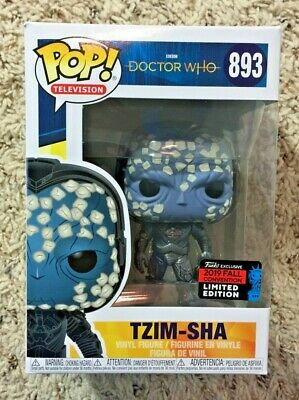 Funko Pop! Tzim Sha Doctor Who 2019 NYCC #893