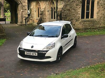 RENAULT CLIO VVT Renaultsport 200 Cup White Manual Petrol, 2010